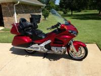 Beautiful Super Clean Candy Red 2012 Honda GL1800