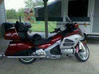 2012 Honda Goldwing in Excellent Condition Red Exterior