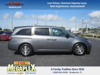 This 2012 Honda Odyssey EX in Gray is well equipped
