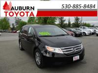 LOW MILES, 1 OWNER, LEATHER!  This 2012 Honda Odyssey