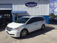 Options:  2012 Honda Odyssey Ex-L|White|**One
