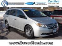 Accident Free Carfax! 2012 Honda Odyssey EX-L, Honda