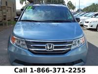 2012 Honda Odyssey EX-L Features: One Owner - Warranty