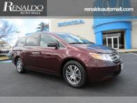 Exterior Color: dark cherry pearl, Body: Mini-Van,