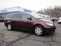 New Price! Certified. 2012 Honda Odyssey LX Honda