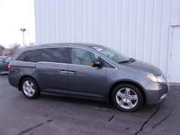 Honda Odyssey 3.5L V6 SOHC i-VTEC 24V 2012 Touring Gray