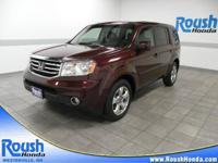 This one owner 2012 Honda Pilot is CarFax Certified and