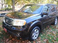 HONDA PILOT 4X4 EX-L,BLACK ON GRAY, NAVIGATION,