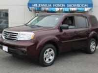 ====== 2012 Honda Pilot LX - 8 Pass - Third Row - 18