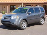 Options:  2012 Honda Pilot 4D Wagon Ex Alabaster Silver