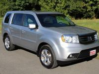 New Price! Alabaster Silver Metallic 2012 Honda Pilot