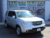 Polished Metal Metallic 2012 Honda Pilot EX-L 4WD