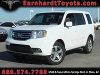 We are happy to offer you this 2012 Honda Pilot EX-L