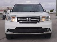 We are excited to offer this 2012 Honda Pilot. Your