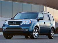 Honda of Bay County presents this 2012 HONDA PILOT 2WD