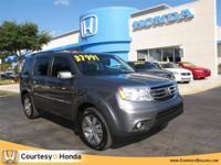 2012 HONDA Pilot SUV 2WD 4dr Touring w/RES & Navi