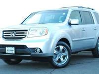 This 2012 Honda Pilot 4dr 4WD 4dr EX-L 4x4 SUV features