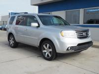 4WD. Talk about a deal! Ready to roll! This 2012 Pilot