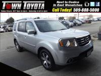 Options:  2012 Honda Pilot Touring|Locking/Limited Slip
