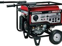 2012 Honda Power Equipment EM3800 BRAND NEW!! FULL