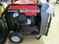 2012 Honda Power Equipment EM5000iS BRAND NEW!! FULL