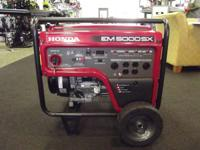 2012 Honda Power Equipment EM5000S Call our Dedicated