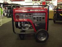 2012 Honda Power Equipment EM6500S Call our Dedicated