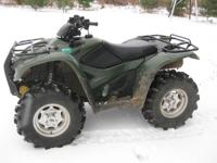 For Sale: 2012 Honda Rancher AT 420 TRX420FPA 4x4 with