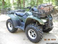 NOTICE PRICE REDUCTION'''''really nice atv. i bought it