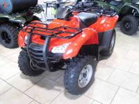New Honda Rancher TRX420TEC 2012 2wd electric shift.