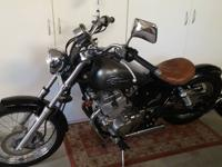 2012 Honda Rebel Custom Bobber quality build, Blue