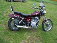 This is a copy of a Honda Rebel 250-cc (duplicated)