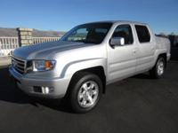Meet our 2012 Honda Ridgeline RTS Crew Cab 4x4 shown in