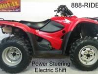 2012 Honda TRX420 Rancher Electric Shift with power