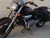 Motorcycle was purchased new by my father in 2012, and