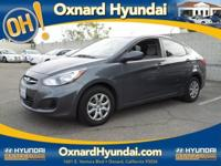 2012 Hyundai Accent GLS, 4D Sedan, and 6-Speed
