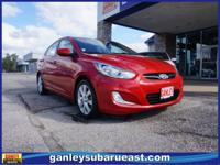 Hyundai Accent GLS 2012 Boston Red New Price!