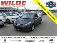 Options:  2012 Hyundai Accent Gls|Cyclone Gray/Gray|V4