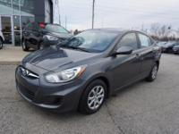 2012 Hyundai Accent GLS CARFAX One-Owner. Odor Free