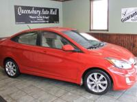 Options:  2012 Hyundai Accent Gls 4Dr Sedan|Inferno