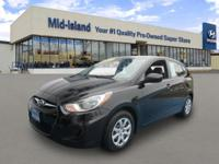 This 2012 Hyundai Accent GS is Well Equipped with Brake