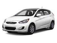 Clean Carfax - 1 Owner. Accent SE, Hyundai Certified,