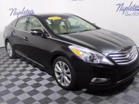 New Price! 2012 Hyundai Azera Black CARFAX One-Owner.
