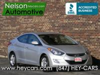 This Clean Carfax Elantra has a couple really nice