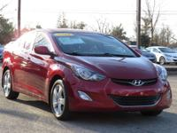 2012 Hyundai Elantra GLS 35,508 Big smiles !! Includes