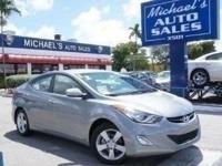 Options:  2012 Hyundai Elantra Gls Gray ***Clean
