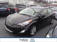 Extremely Clean, Low Mileage 2012 Elantra w/The