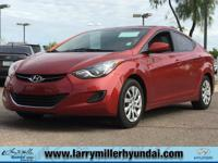 Here's a great deal on a 2012 Hyundai Elantra! Roomy,