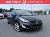 New arrival! 2012 Hyundai Elantra Limited PZEV! Only
