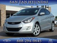 New Arrival! This 2012 Hyundai Elantra Limited will